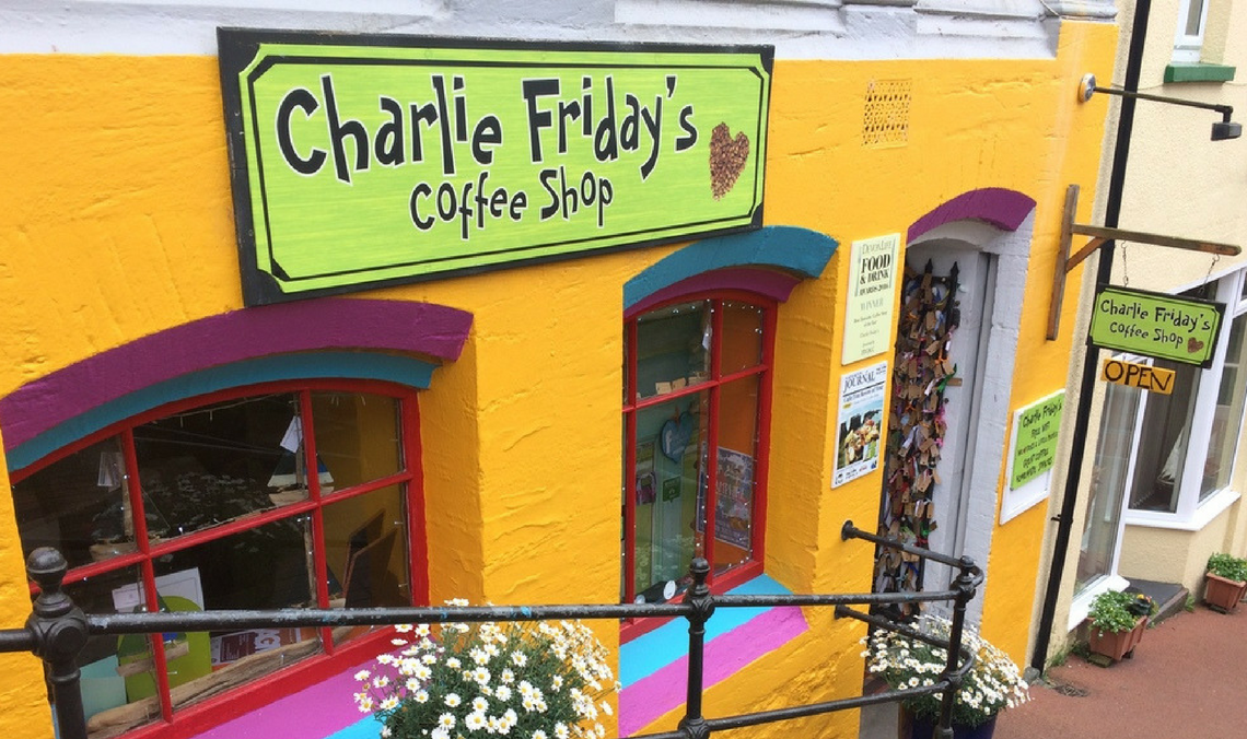 Charlie Friday's Review and Book Giveaway