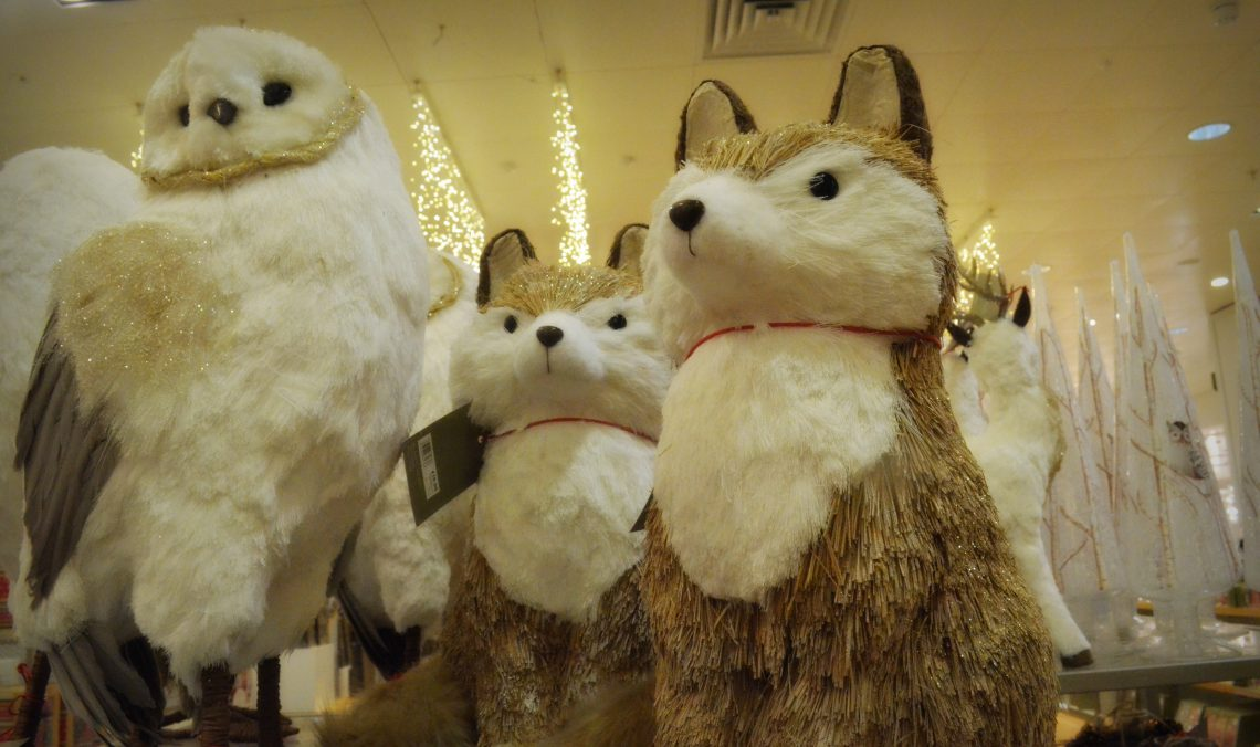 John Lewis Christmas Shop 2017