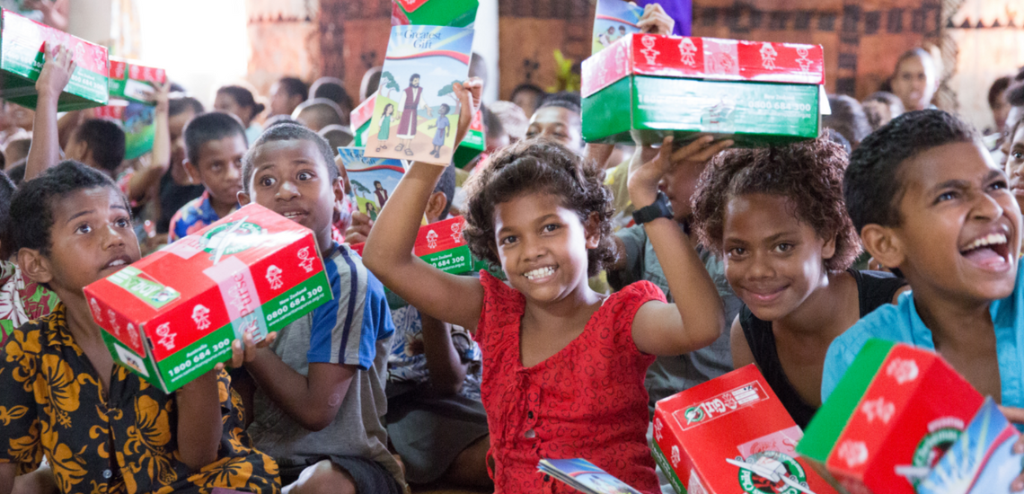 Charity Corner: My Shoebox for Operation Christmas Child
