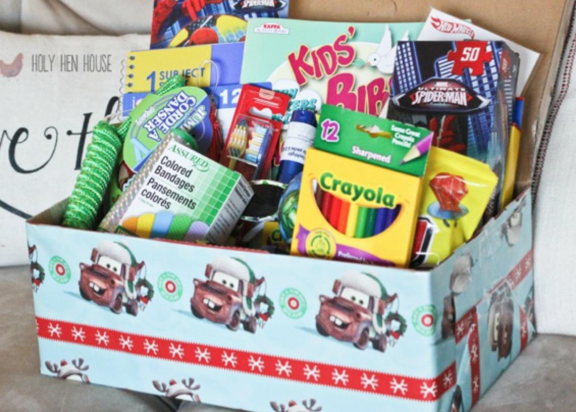 charity corner my shoebox for operation christmas child - Christmas Shoebox