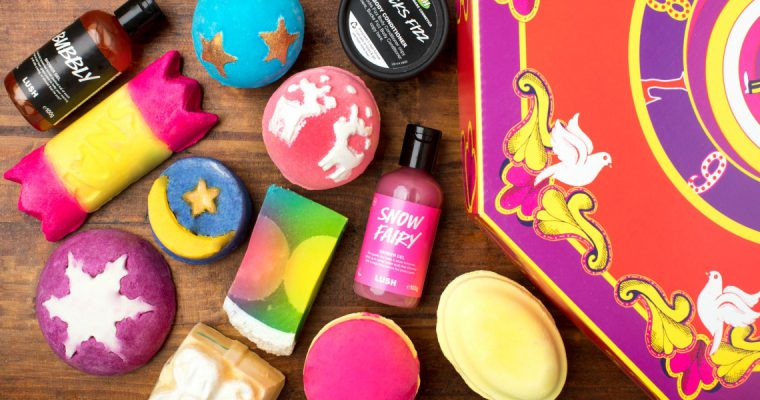 Blogmas Day 12: My Top 5 LUSH Christmas Products