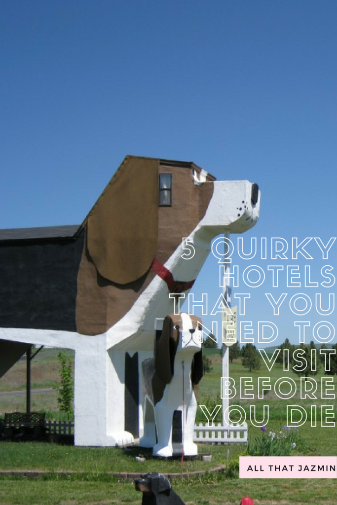 5 quirky hotels to visit before you die all that jazmin for Quirky hotels