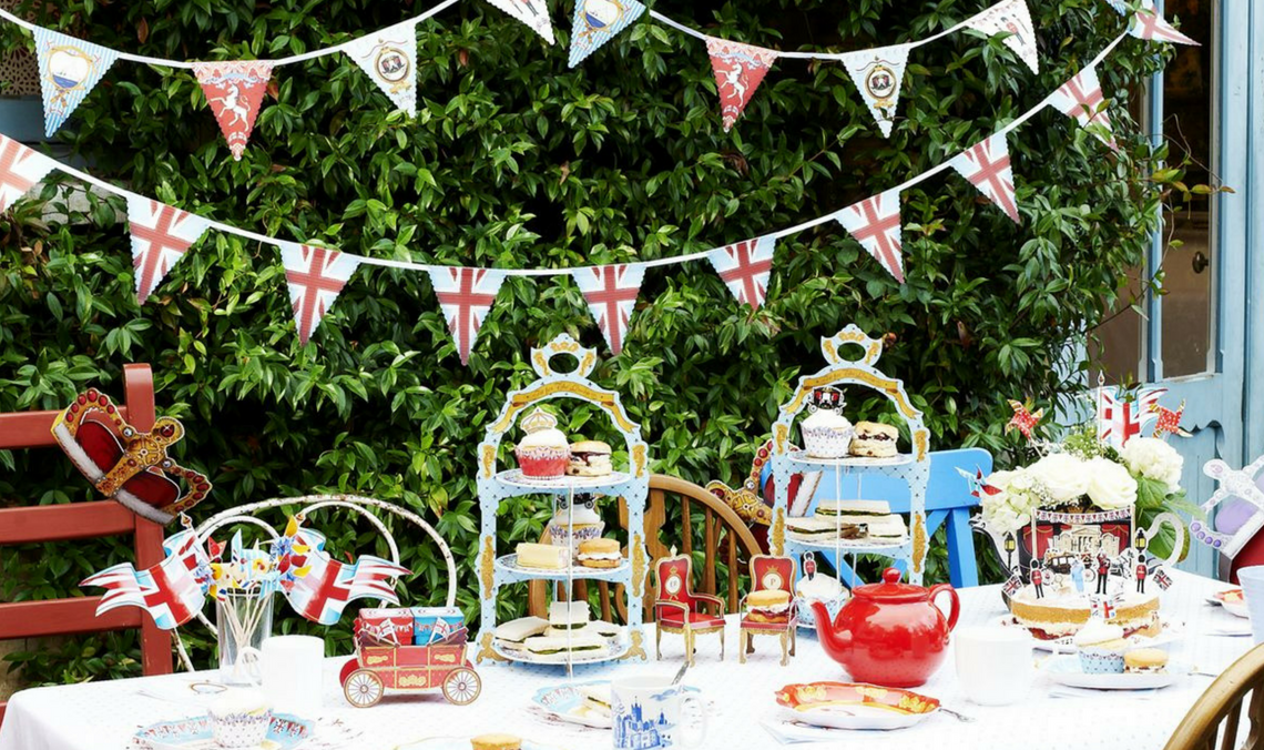 The Most Absolutely British Things You Need To Throw A Royal Wedding Party