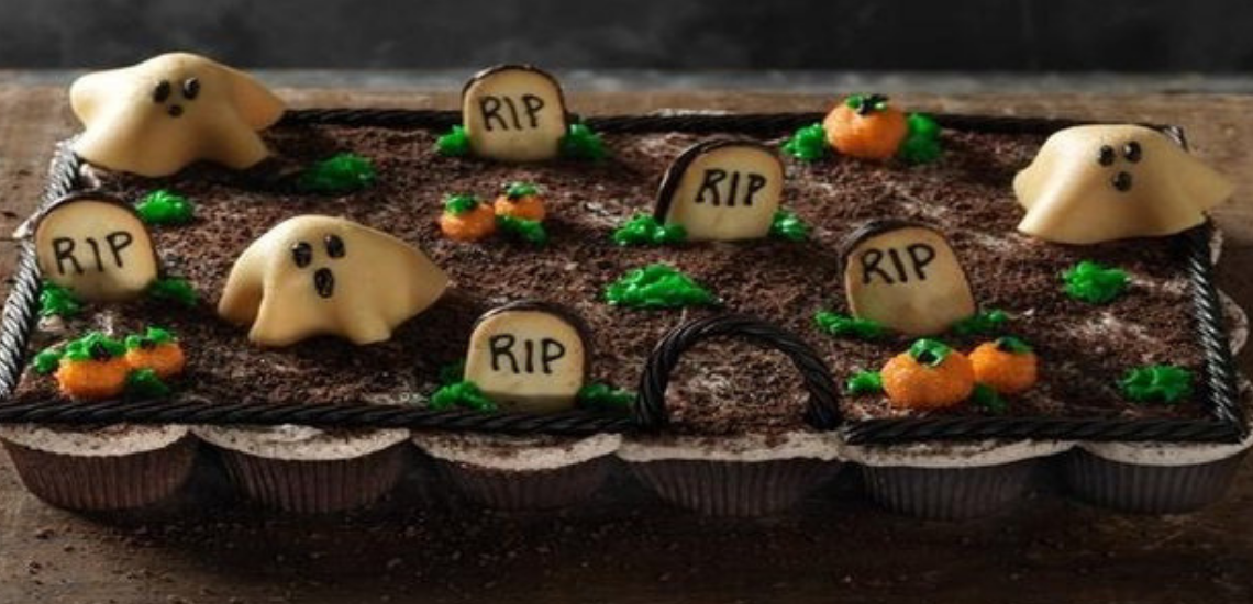 Halloween Treats: Pull Apart Graveyard Cupcakes Recipe