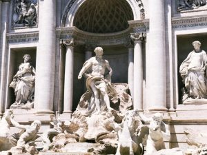 Trevi Fountain Rome Travel Diary