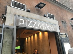 Pizza in Trevi Where to eat near Trevi Fountain Rome Travel Diary