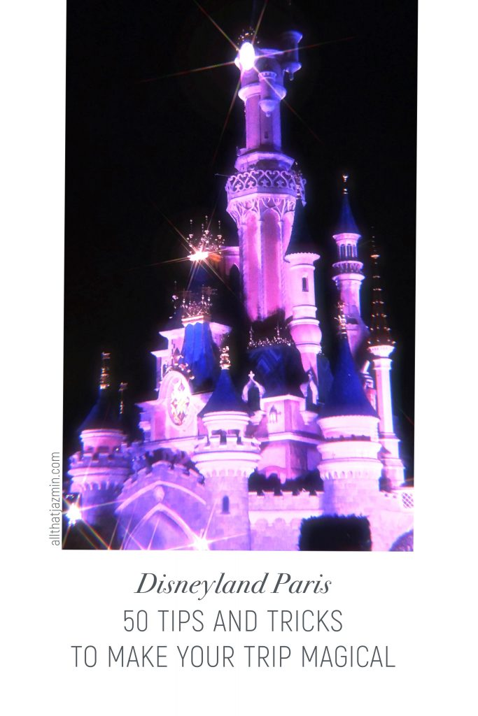 Disneyland Paris Tips and Tricks Pinterest