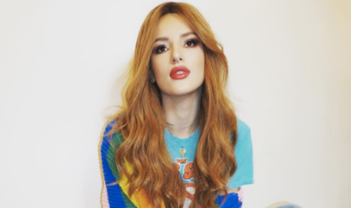 Celebrity Bargain Buy: Bella Thorne's Rolling Stones T-Shirt