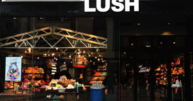 The Launch of LUSH Spa Cardiff