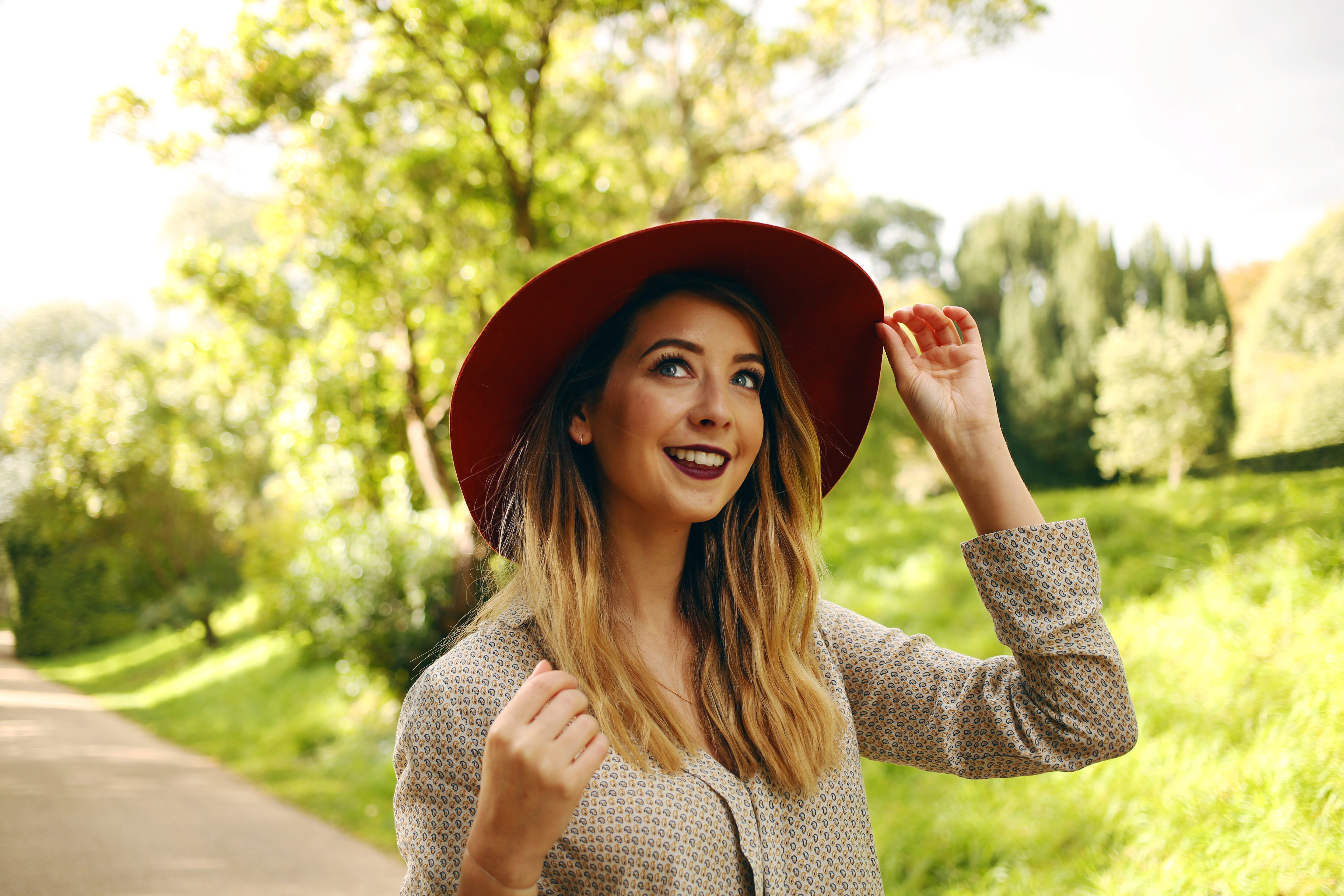 Celebrity Bargain Buy: Zoella's Oversized Printed Shirt