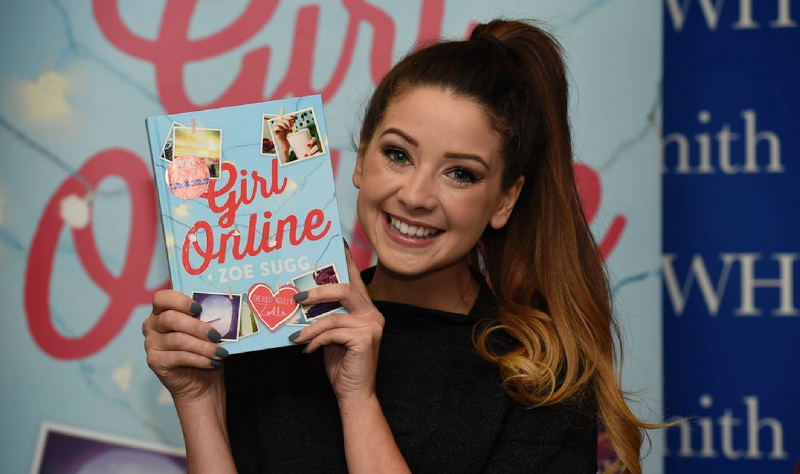 Zoe Sugg: the vlogger who is encouraging young people to improve literacy skills