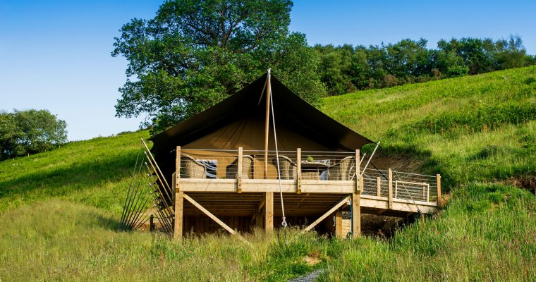 Review: Luxury glamping at Longlands, Devon