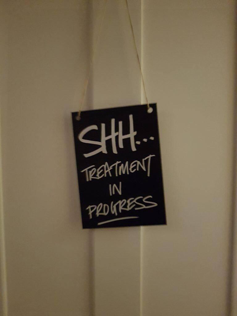 LUSH Spa's Hard Days Night Treatment