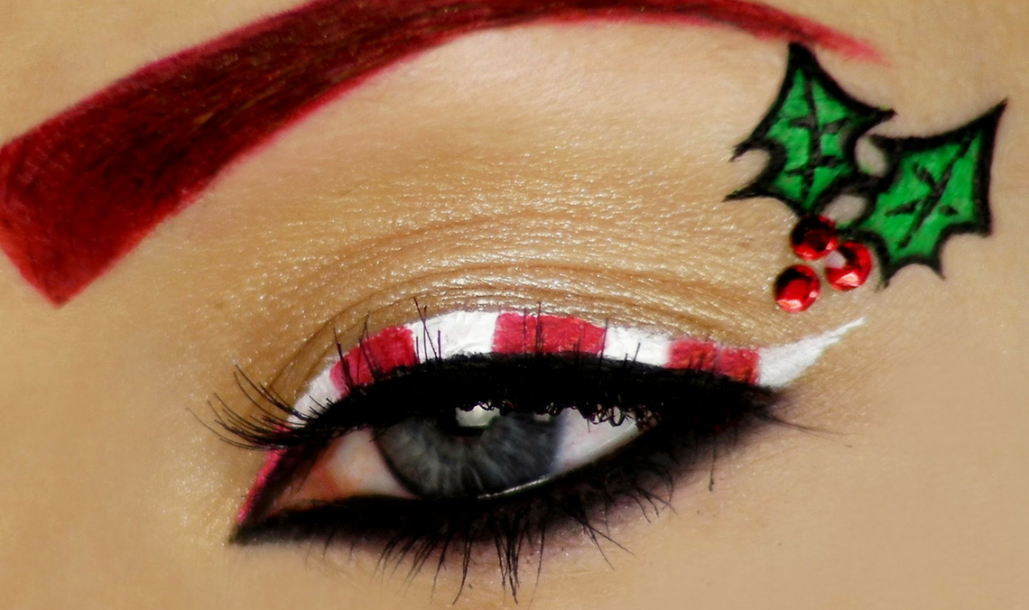 Christmas Makeup Tutorials To Try This Season