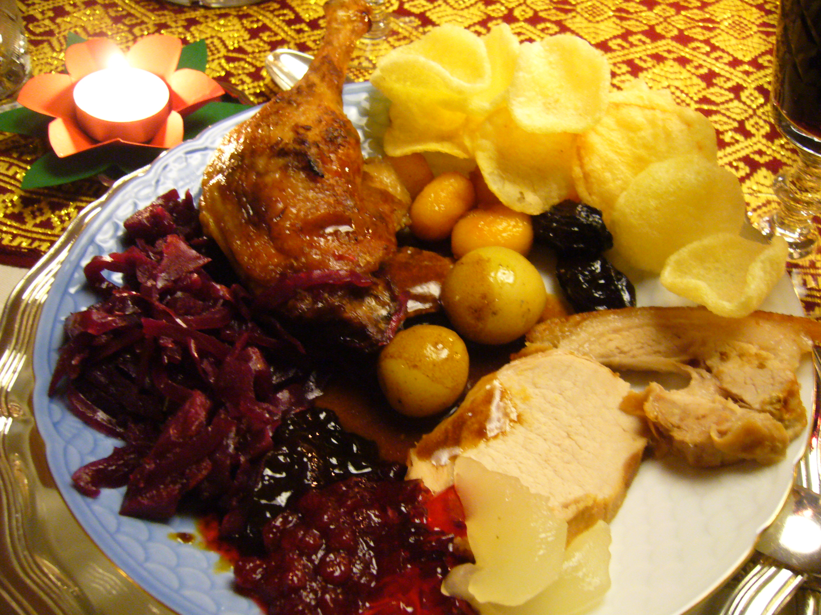Christmas Dinner Around The World
