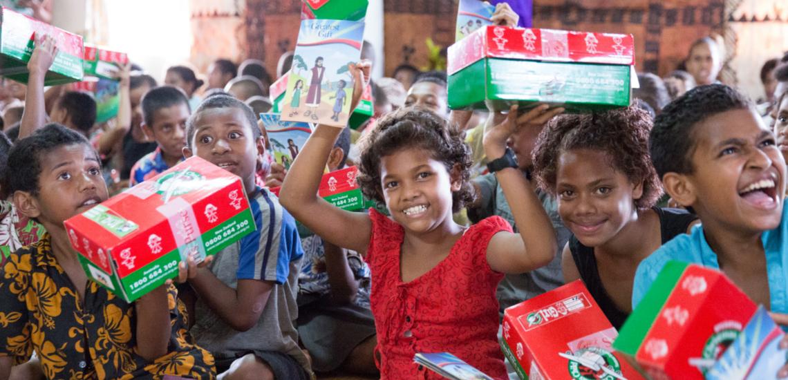 Charity Corner: My Shoebox for Operation Christmas Child
