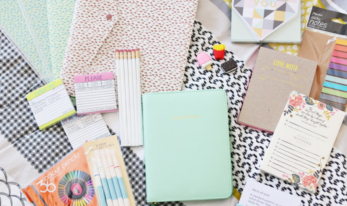 The Most Aesthetically Pleasing Stationery To Brighten Up Your Work Space