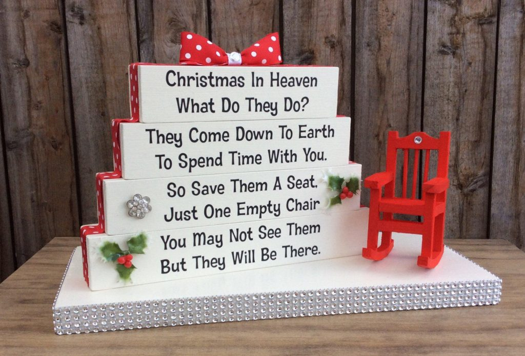 remembering a loved one at Christmas
