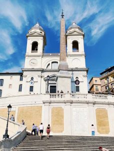 Spanish Steps Rome Travel Diary